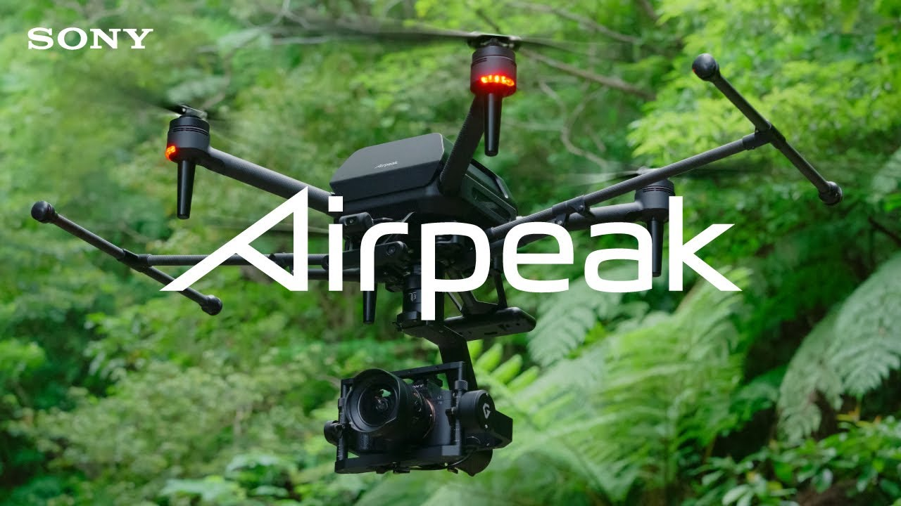 Better than DJI?: New 4K 60p footage from Sony's Airpeak drone with mounted A7S III