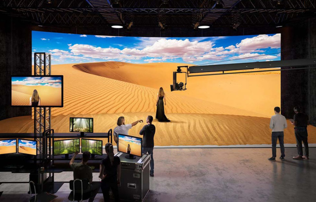 Sony introduces MicroLED wall for virtual movie sets