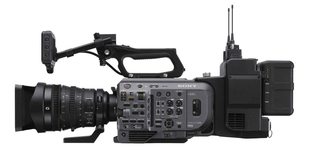 Sony firmware 2.1 for Sony FX9 brings 4K 120p RAW output