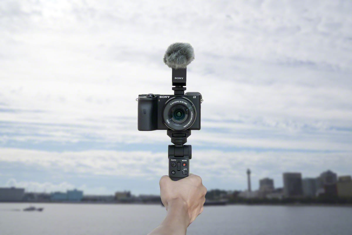 Sony introduces Vlogger handle GP-VPT2BT for Sony Alphas