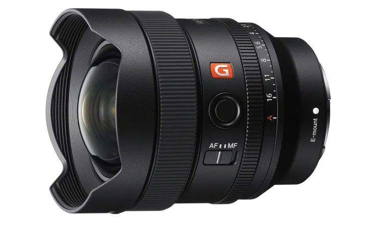Sony FE 14 Millimeter F1.8 GM -- compact ultra wide angle lens announced