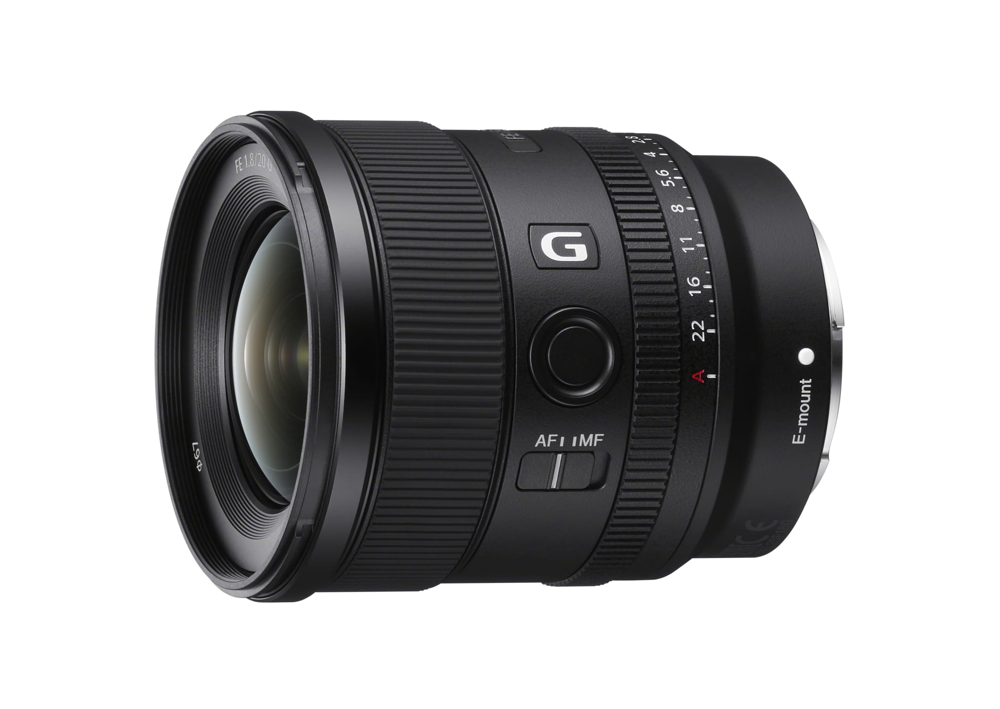 Sony introduces FE 20mm F1.8G full format wide angle for E-Mount