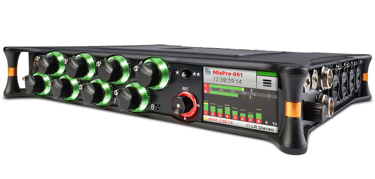 Sound Devices MixPre-10T: New 12 Track Audio Recorder/Mixer with 10 Inputs