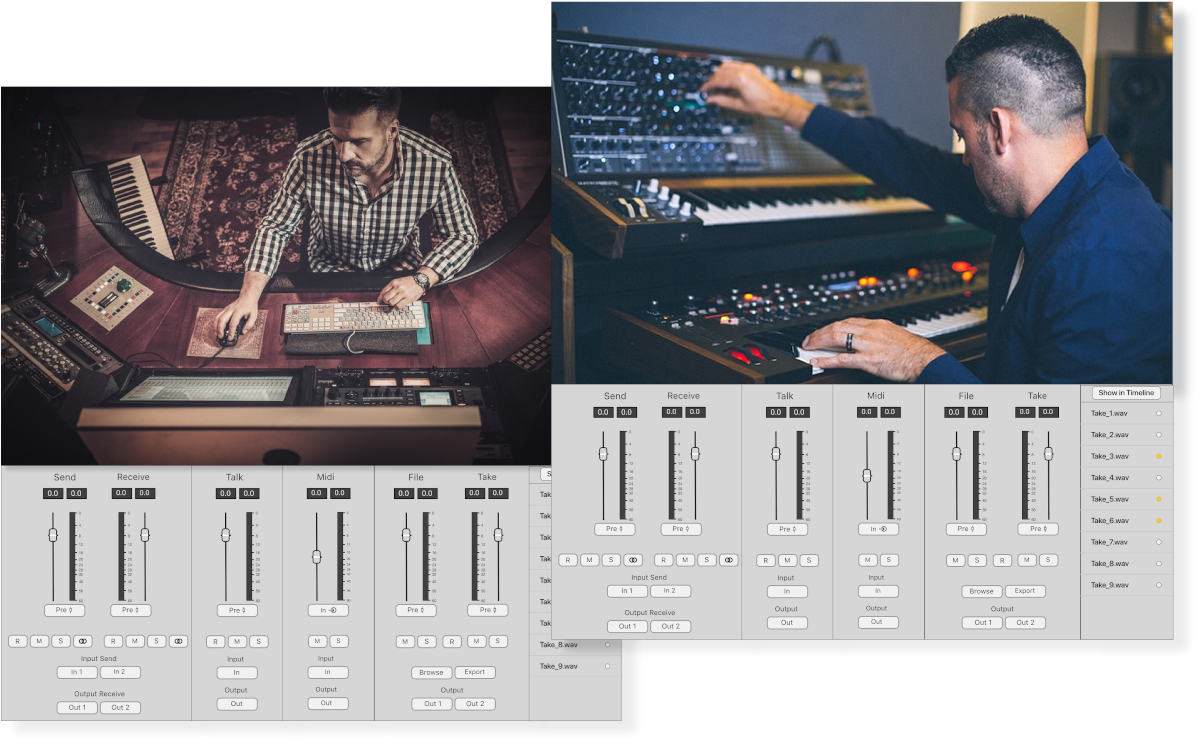 Collaborative sound editing over the net via Soundwhale