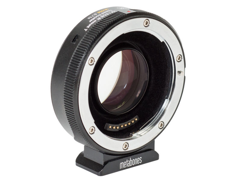 Reduces the 4K crop of the Canon R -- new 0.71x Metabones Speedbooster Canon EF to RF
