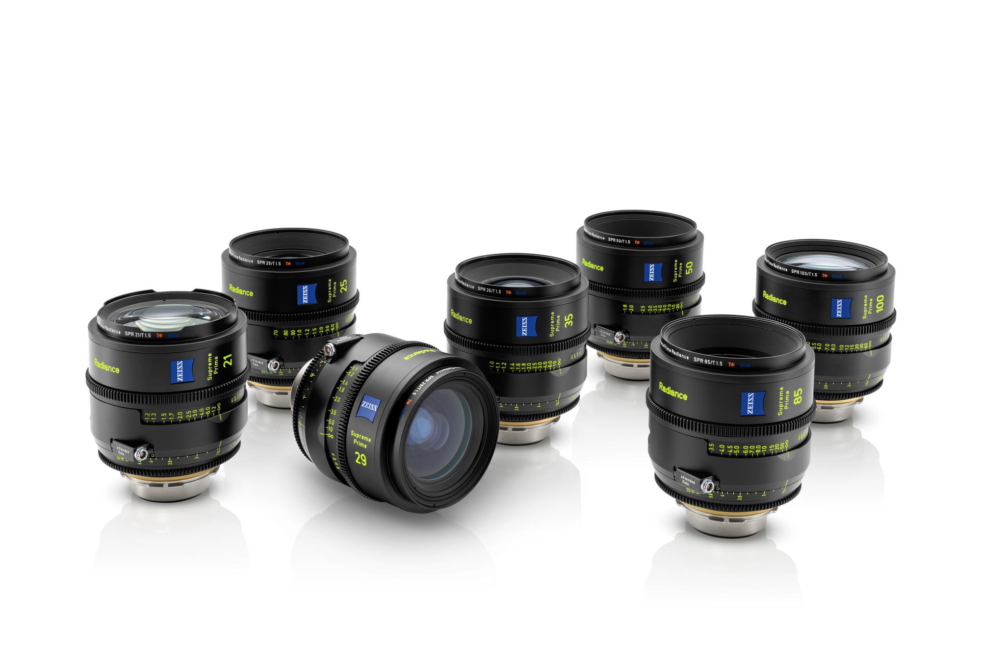 ZEISS: Flares for Supreme Prime High-end film lenses: Supreme Prime Radiance