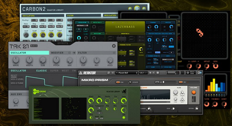 Large package with music tools and sounds from Native Instruments now available for free download