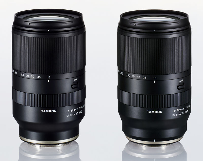 Tamron develops 18-300mm F/3.5-6.3 APS-C superzoom lens for E- and X-mount