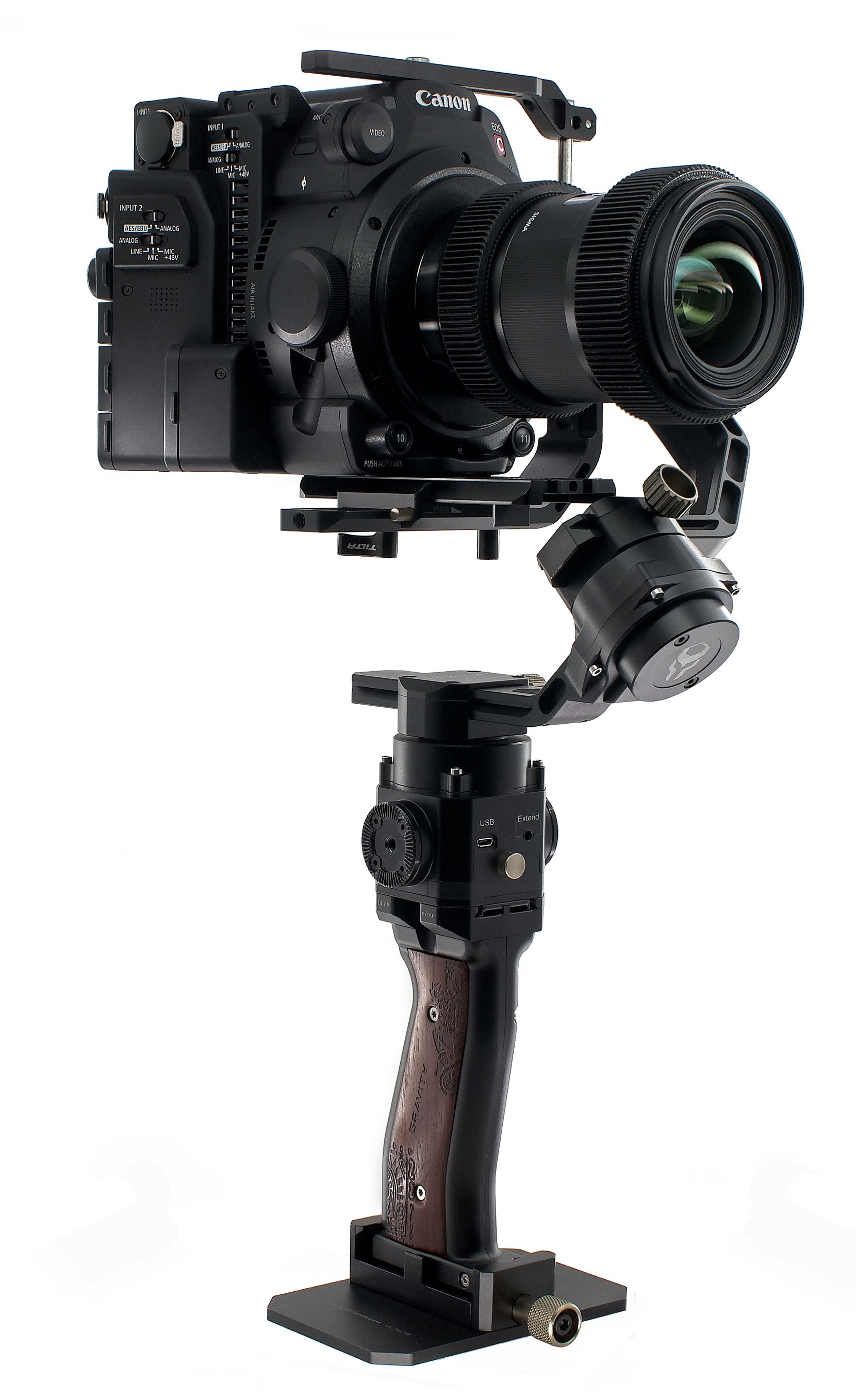 Slashcam News : Tilta introduces Gravity G2 and G2X one-handed