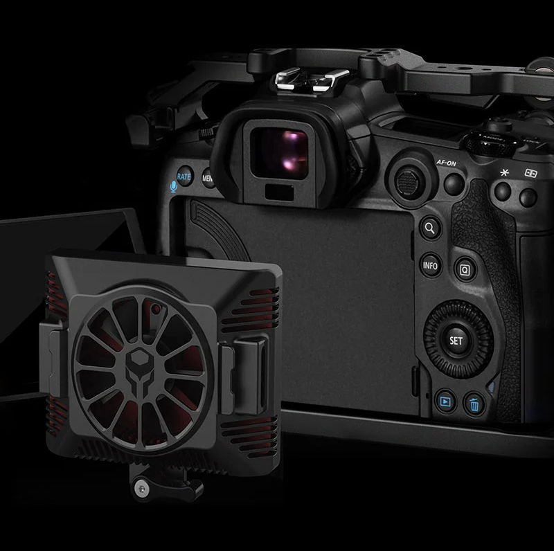 First cooling module for the Canon R5 announced by Tilta -- none too soon...