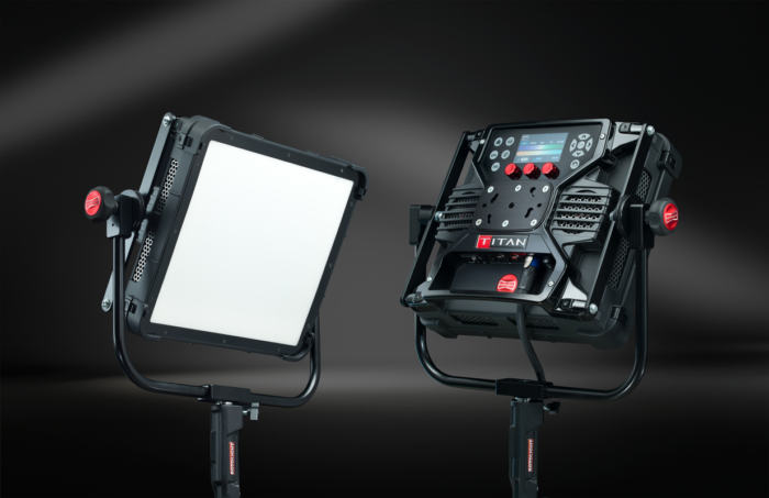 RotoLight Titan X1: Powerful 1x1 Soft Light with electronic diffusion filter