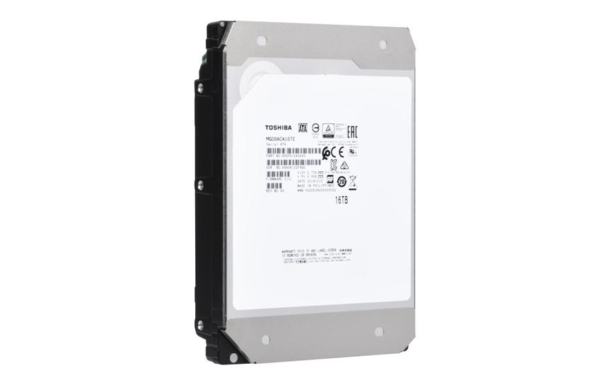 Toshiba Announces 16 TB Hard Disk Drive