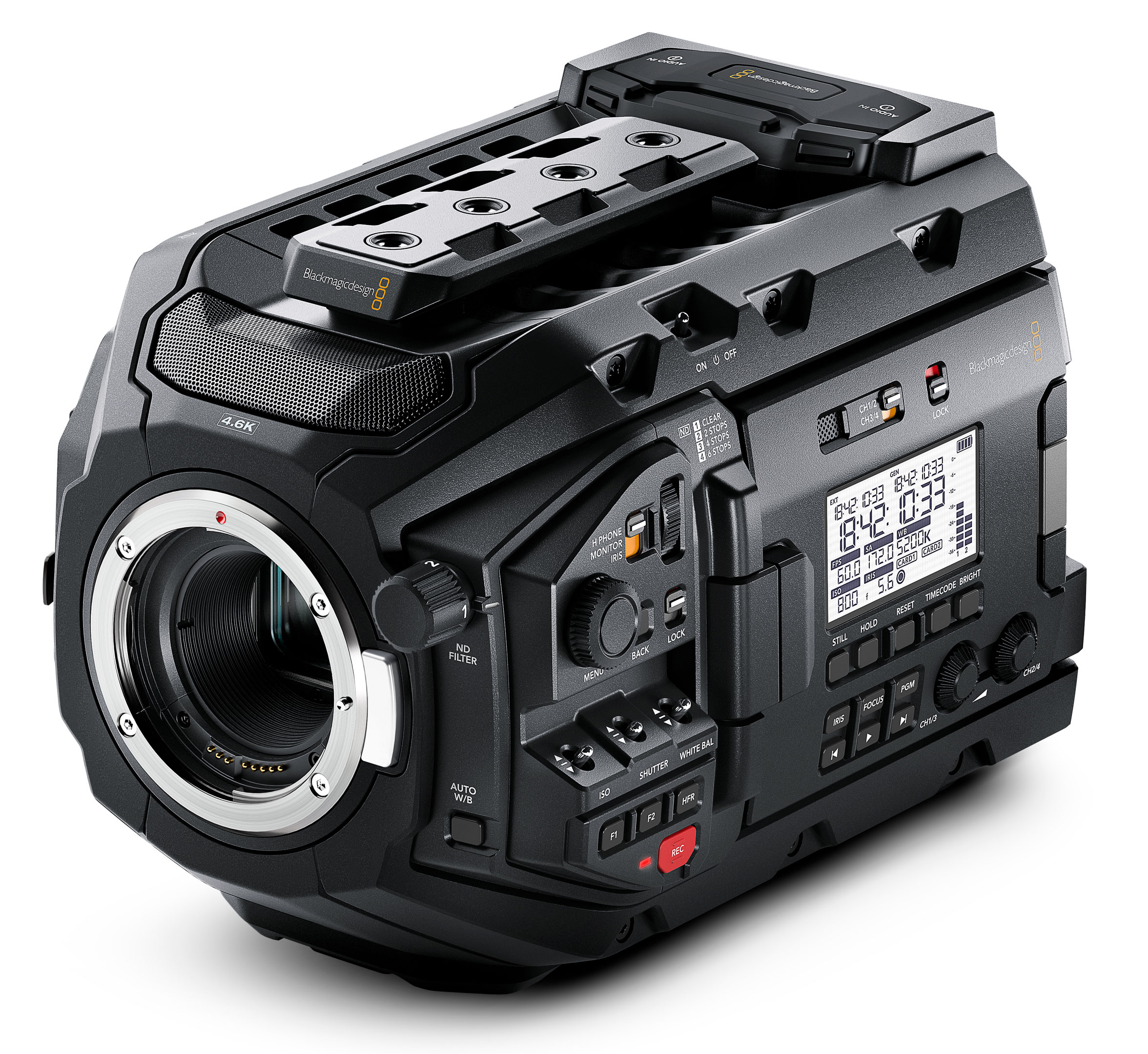 Blackmagic Camera Update 4.4: Among other things with Bluetooth remote control