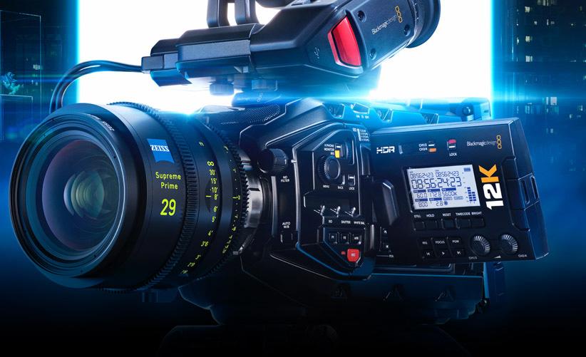 URSA Mini Pro 12K with enhanced frame rates