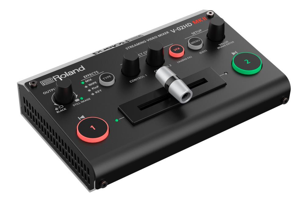 Roland V-02HD MK II Streaming Video Mixer
