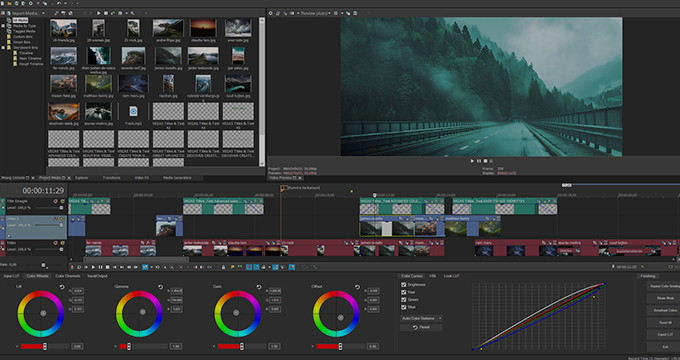 New: Magix Vegas Pro 18 with Sound Forge Pro integration -- cloud tools for teams to follow