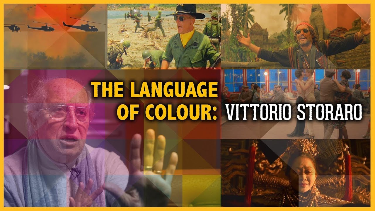 Video Tutorial: Vittorio Storaro (DOP-Apocalypse Now) about color as a film language