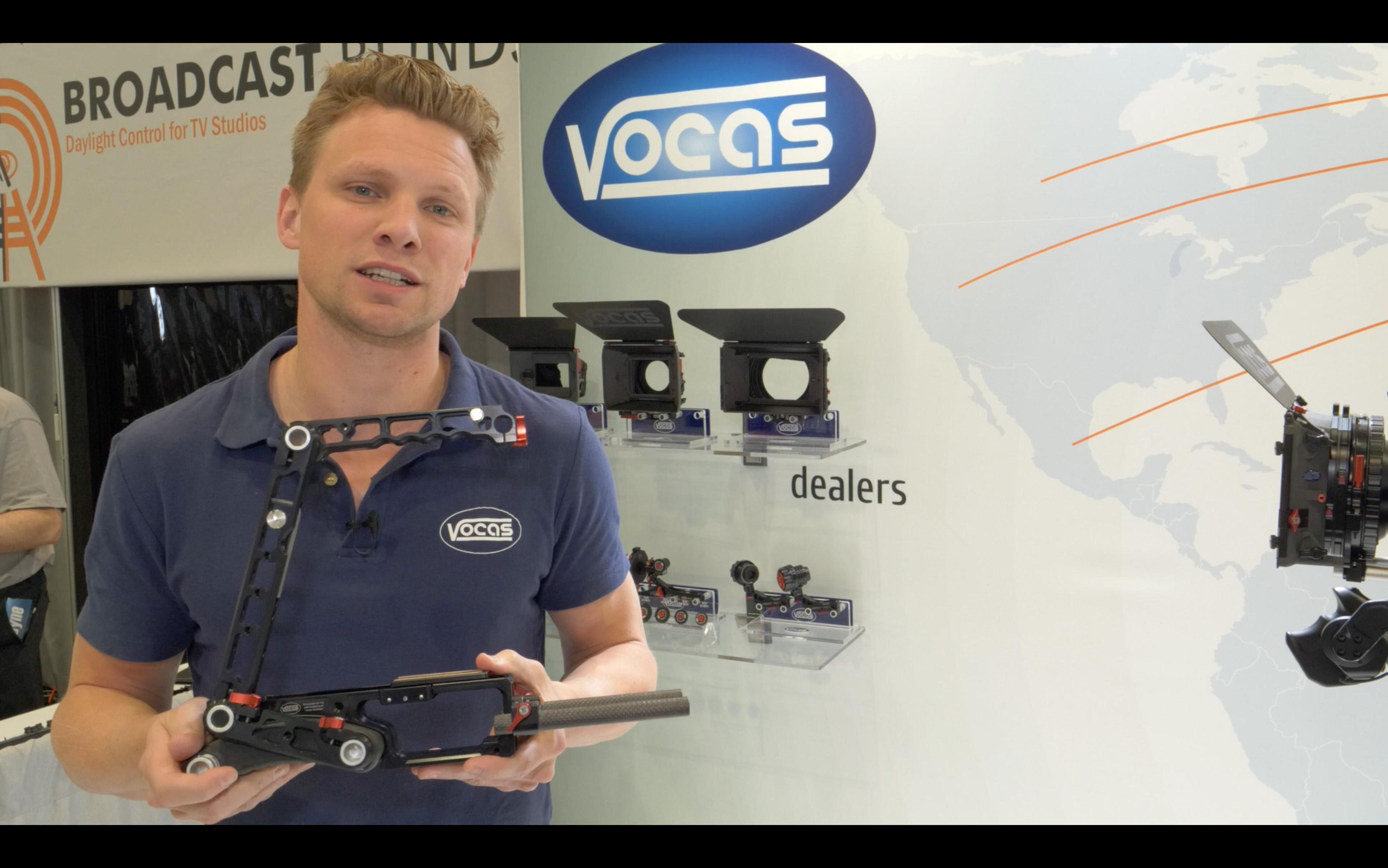 Slashcam News : Interviewclip: Vocas Flexible Camera Rig for Canon