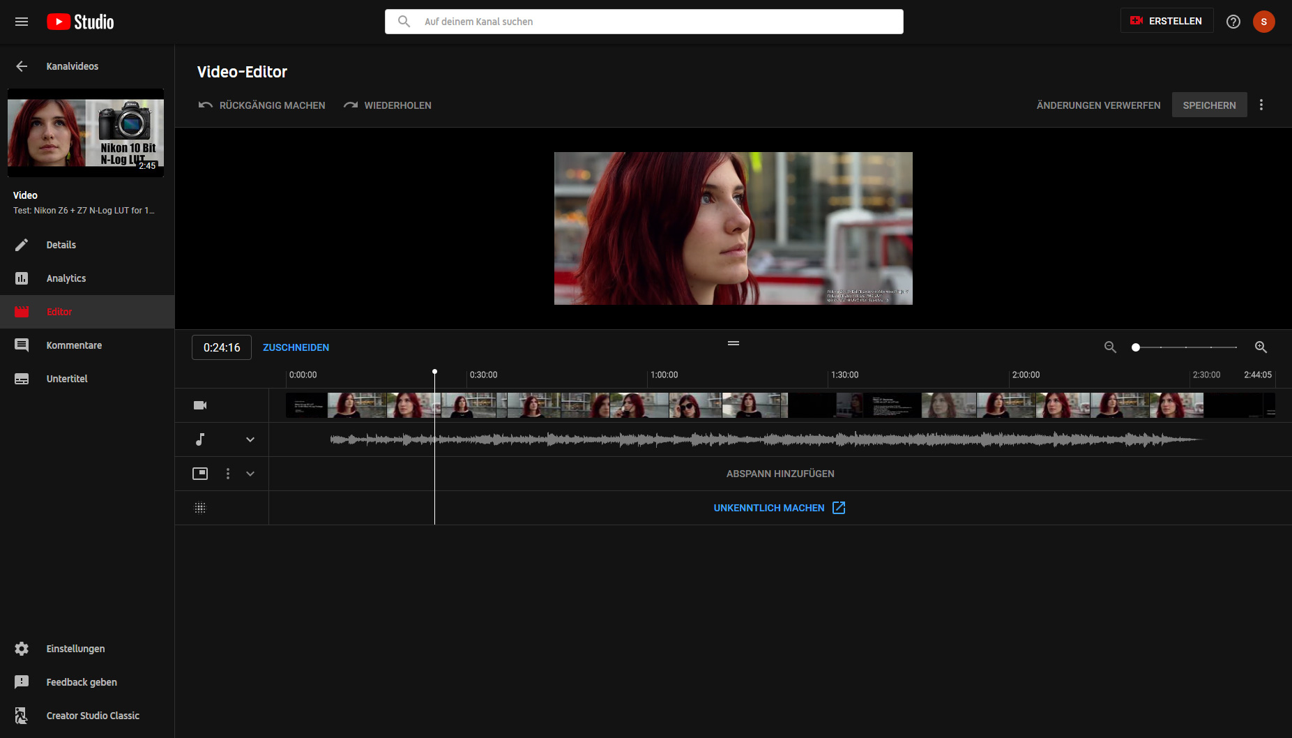 The YouTube video editor: a closer look
