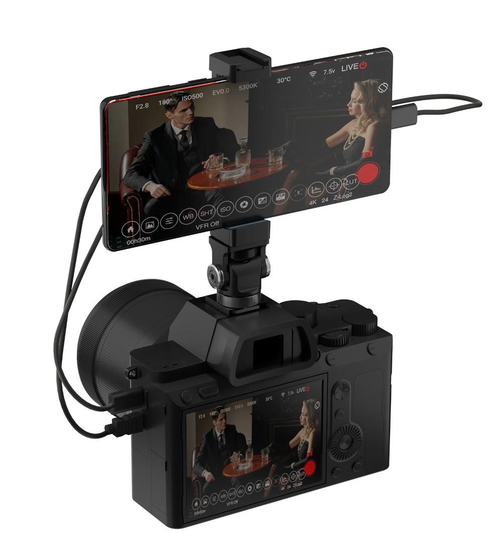 The smartphone as camera monitor via Z CAM IPMAN Gemini