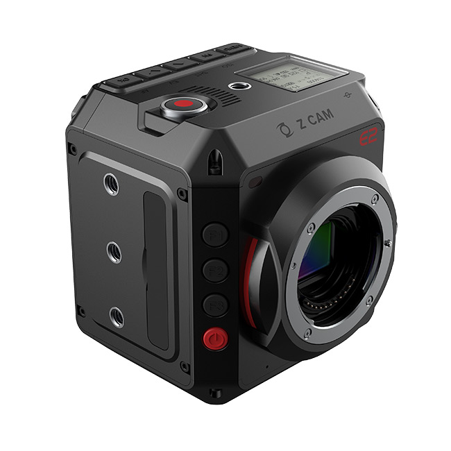 Z CAM E2 now also with internal RAW Recording via Firmware Update