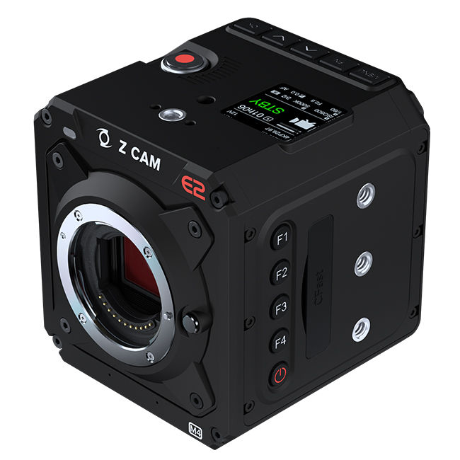 Z Cam: E2 gets live streaming, price reductions -- and new E2-M4 introduced