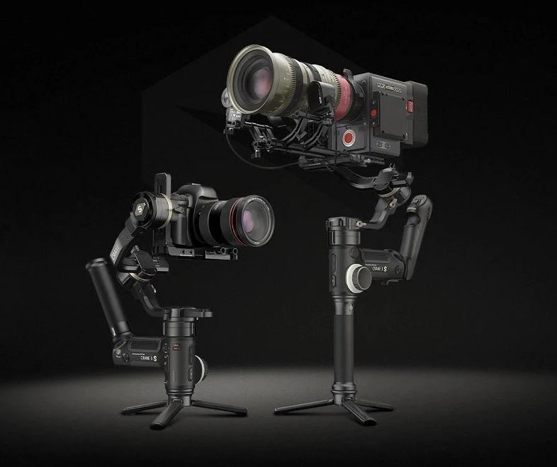 Zhiyun CRANE 3S -- new gimbal supports camera setups up to 6,5 Kg