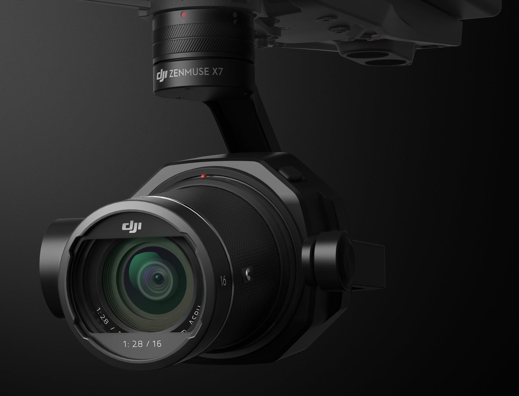 DJI Zenmuse X7 - S35 Gimbal 6K RAW Cinema Camera for 3.000 Euro