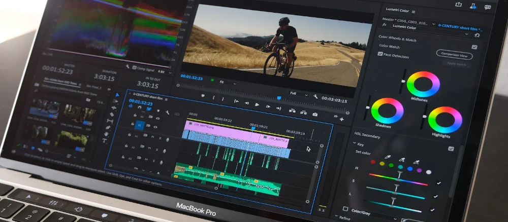 Adobe Performance: Premiere Pro Beta for Apple M1 on average 77% faster