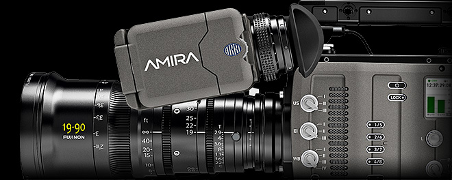 ARRI Software Update Package (SUP) 5.0 for AMIRA cameras available
