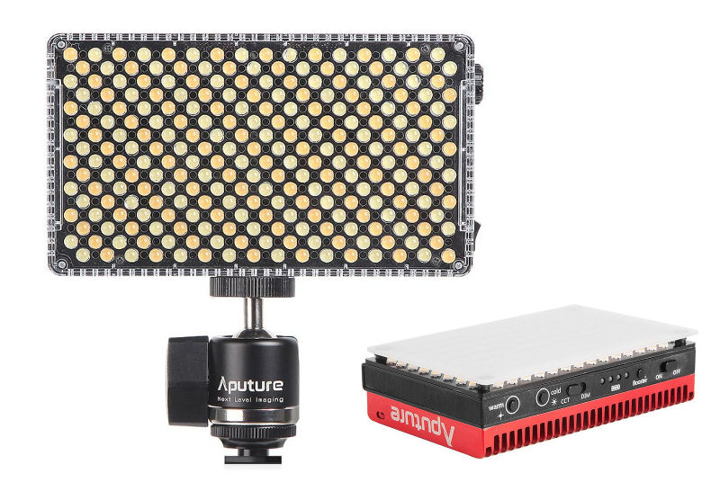 New and brighter Aputure LED Lights -- Amaran MX and F7 // NAB 2018