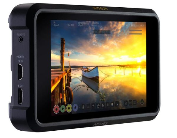 Atomos Shogun 7 firmware update for 3000 nits peak brightness is now online