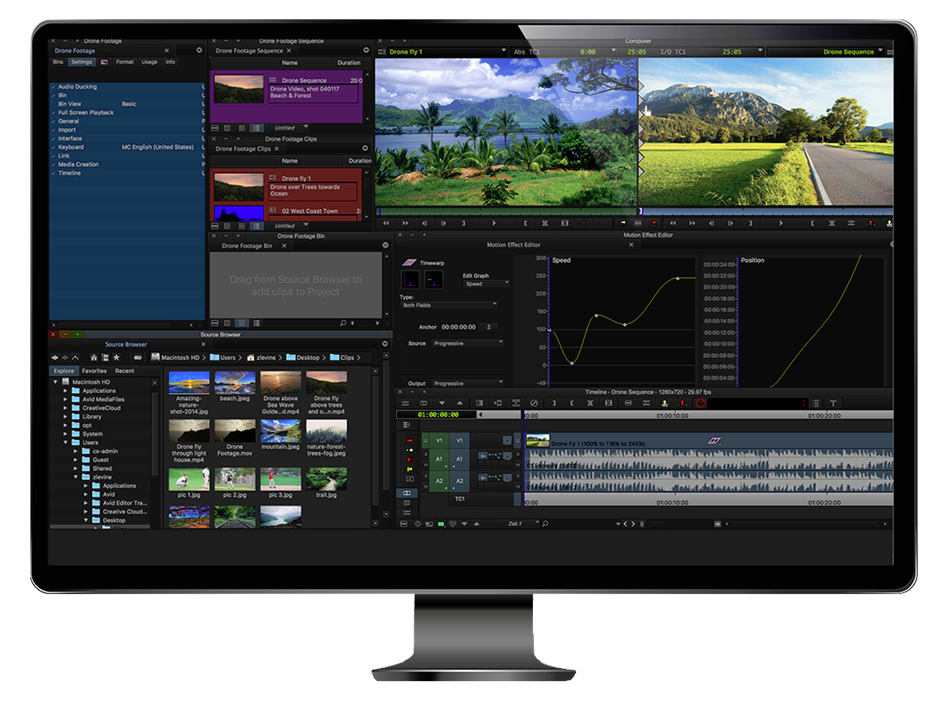 Free, professional video editing: Avid Media Composer | First has been released