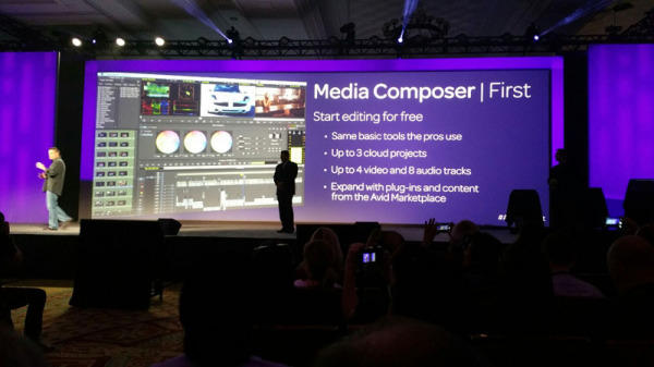 Free video editing: Avid Media Composer | First to be released in June // NAB 2017