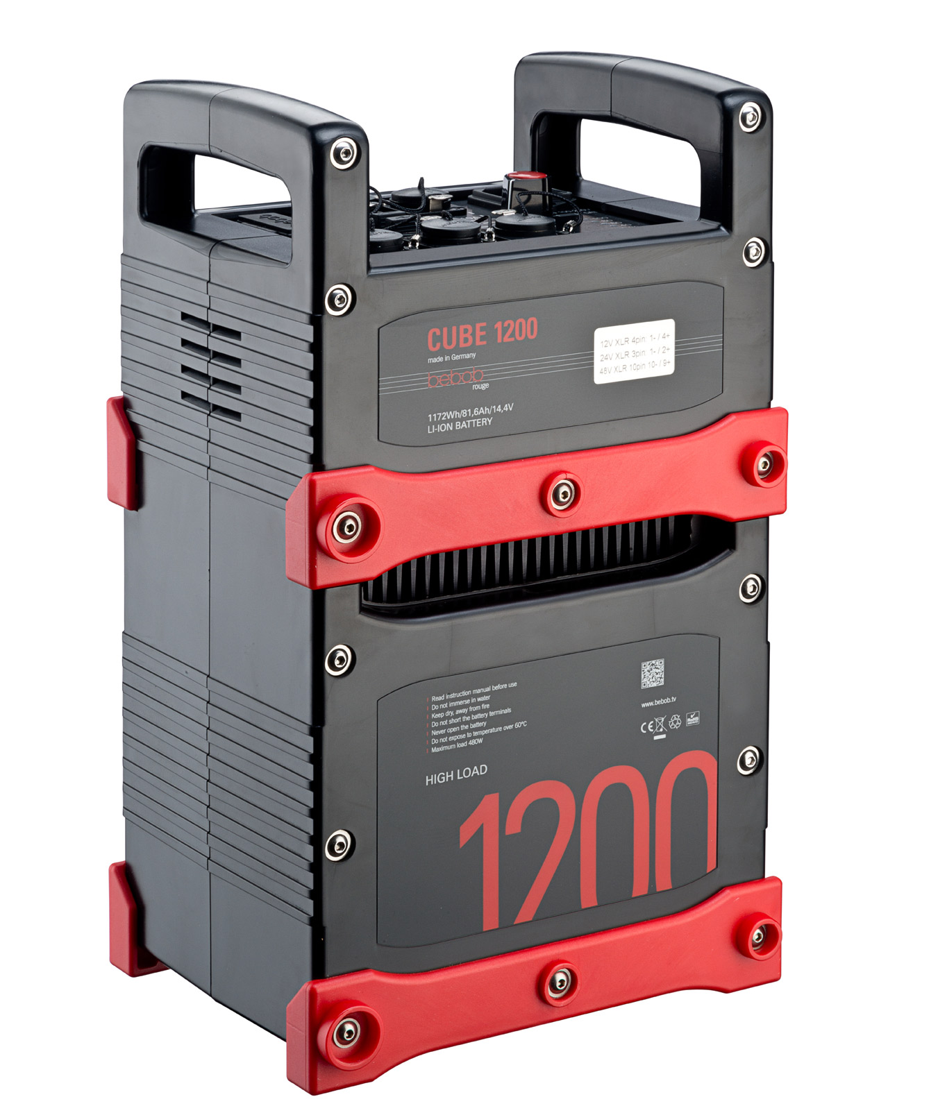 New Bebob CUBE 1200 battery with huge capacity of 1200 Wh