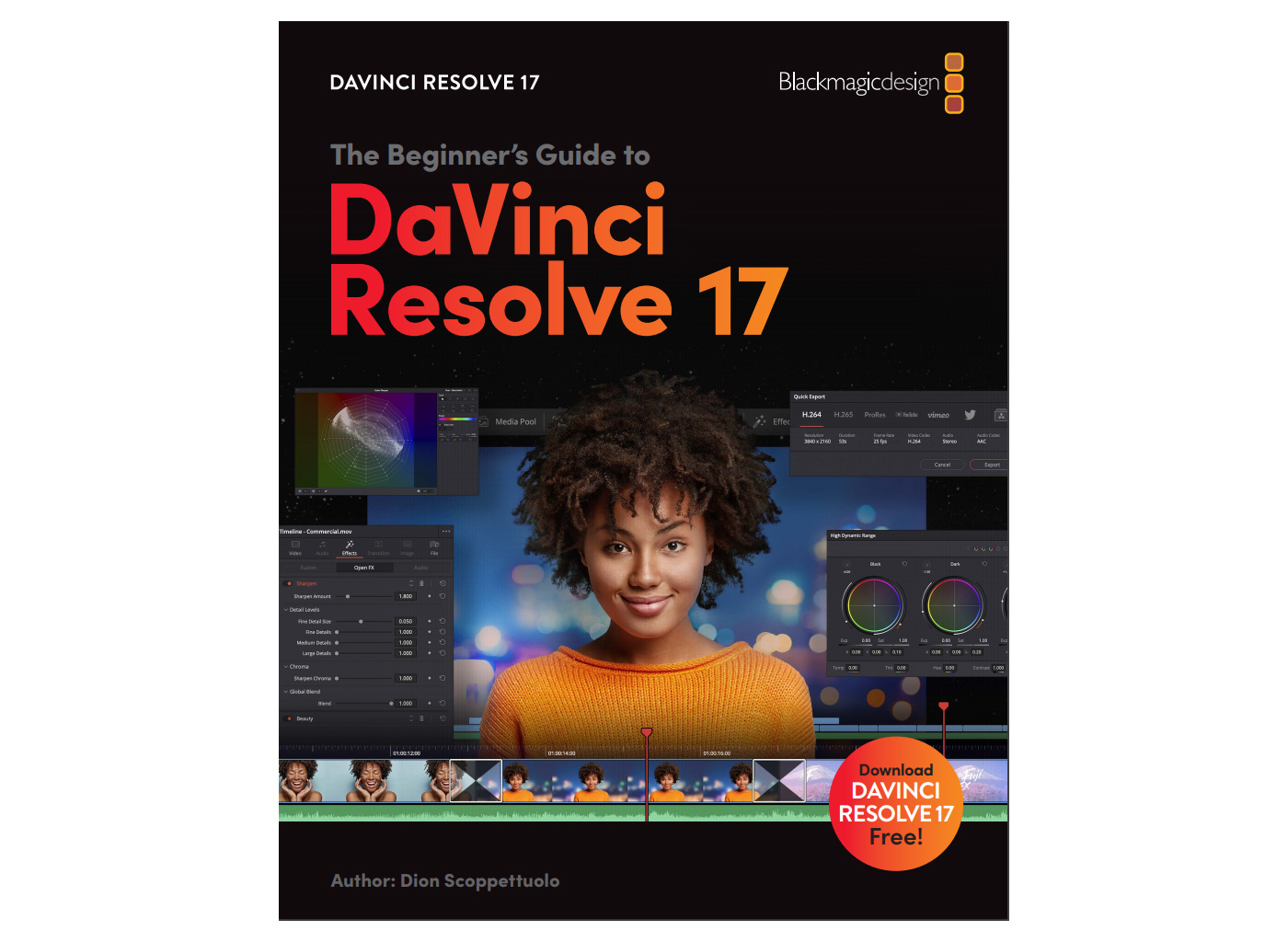 Free beginner's guide to DaVinci Resolve 17 with optional certificate
