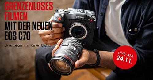 Canon Online Event around the EOS C70