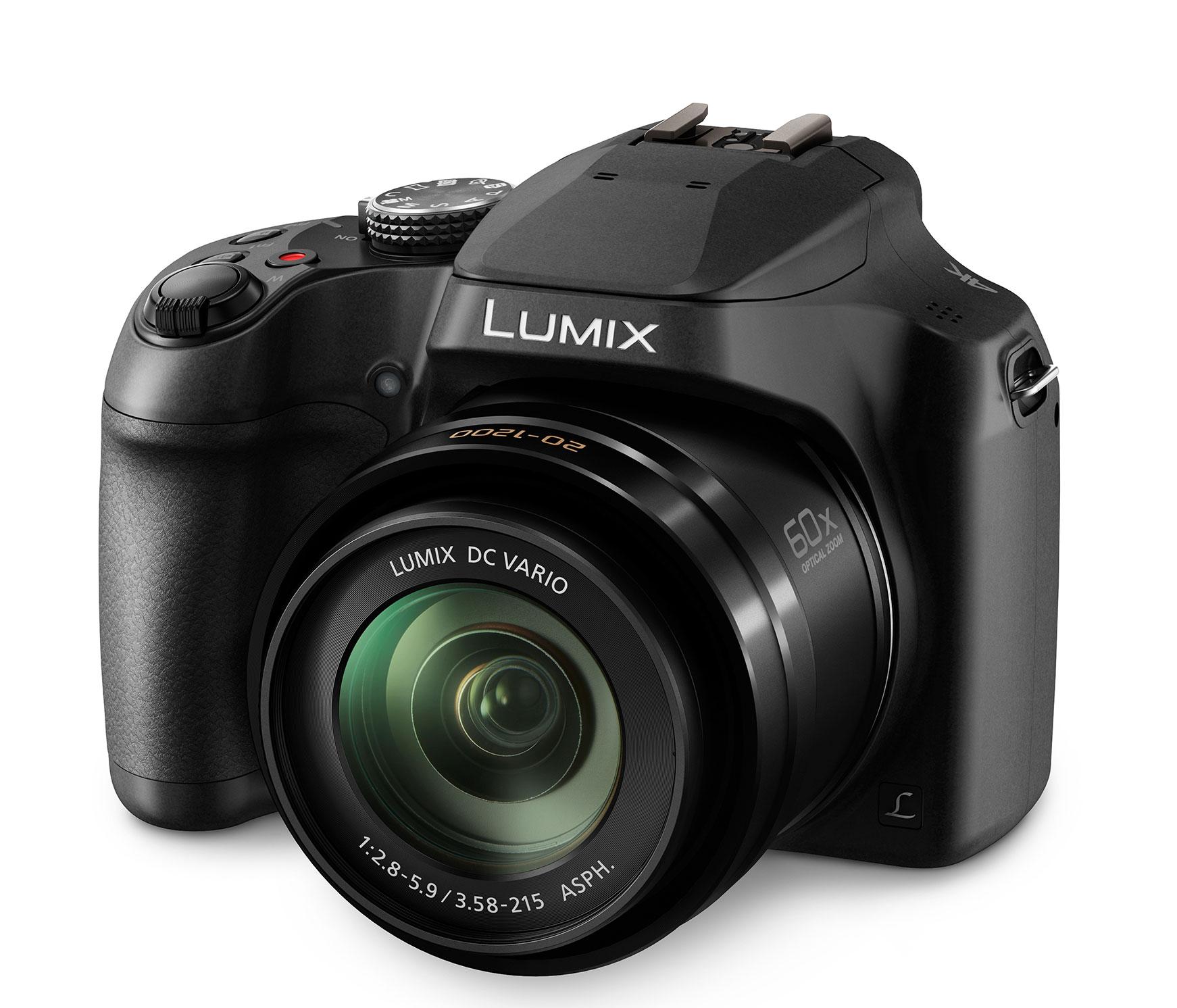 Panasonic Lumix FZ82 4K bridge camera for 349 euros // CES 2017