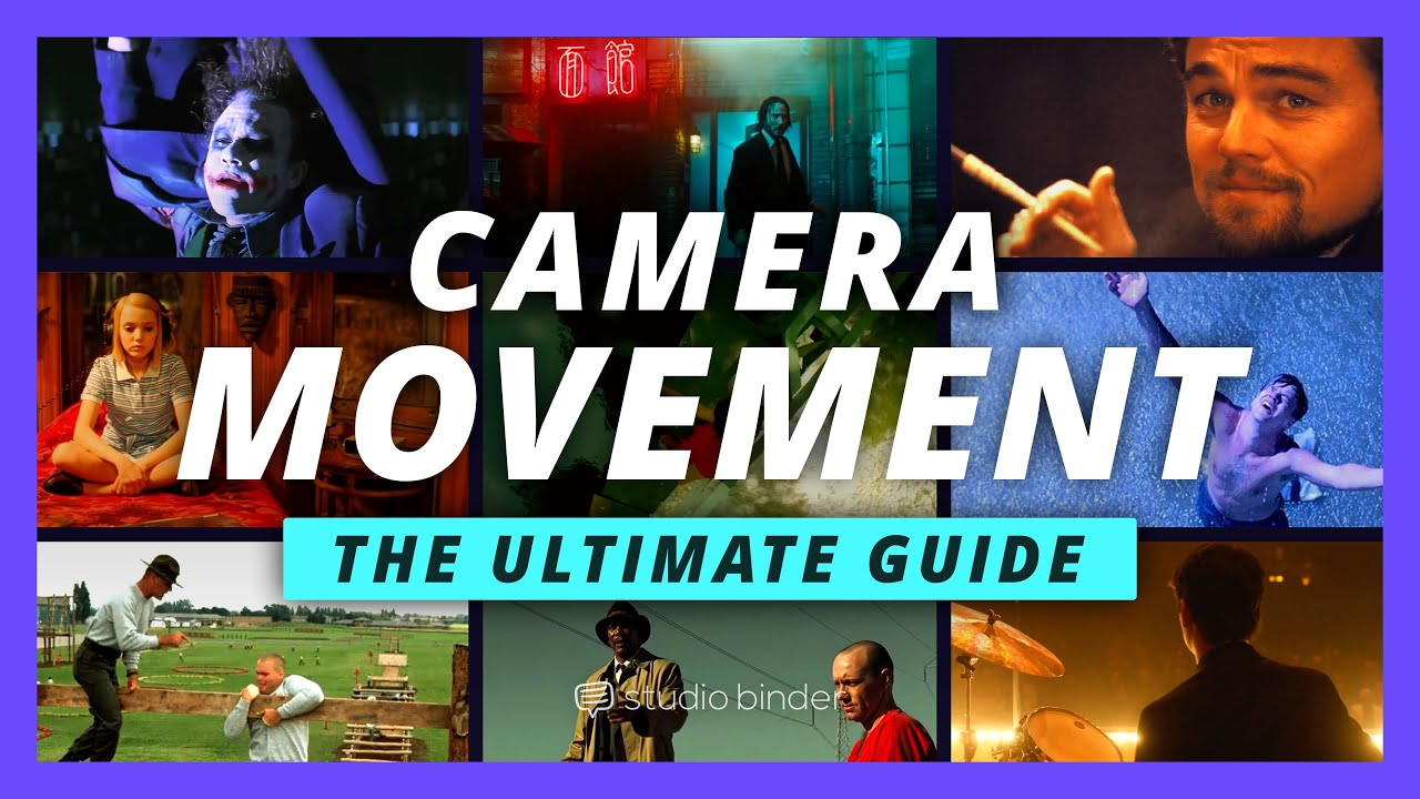 Cameras in motion: all camera movements demonstrated in the film