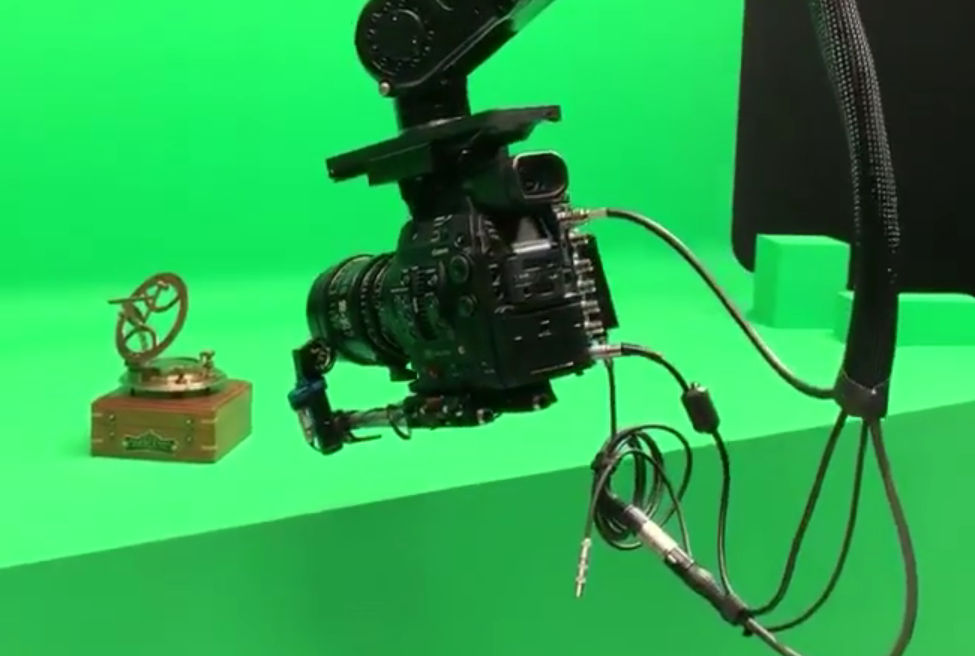 Canon 8K Cinema EOS in action at the Apple Mac Pro announcement