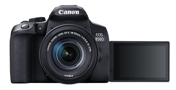 Canon EOS 850D -- 4K shooting DSLR for beginners