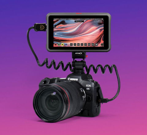 Canon R5 records 8K ProRes RAW with the Ninja V+ after firmware-updates