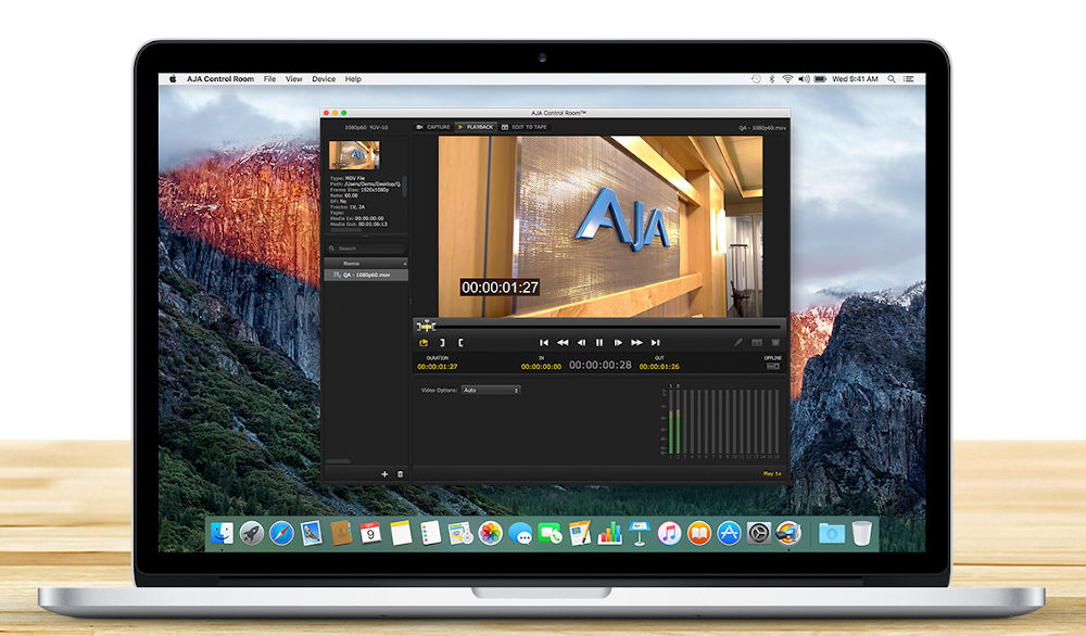 AJA Desktop Software and SDK v16.1 with native support for Apple M1