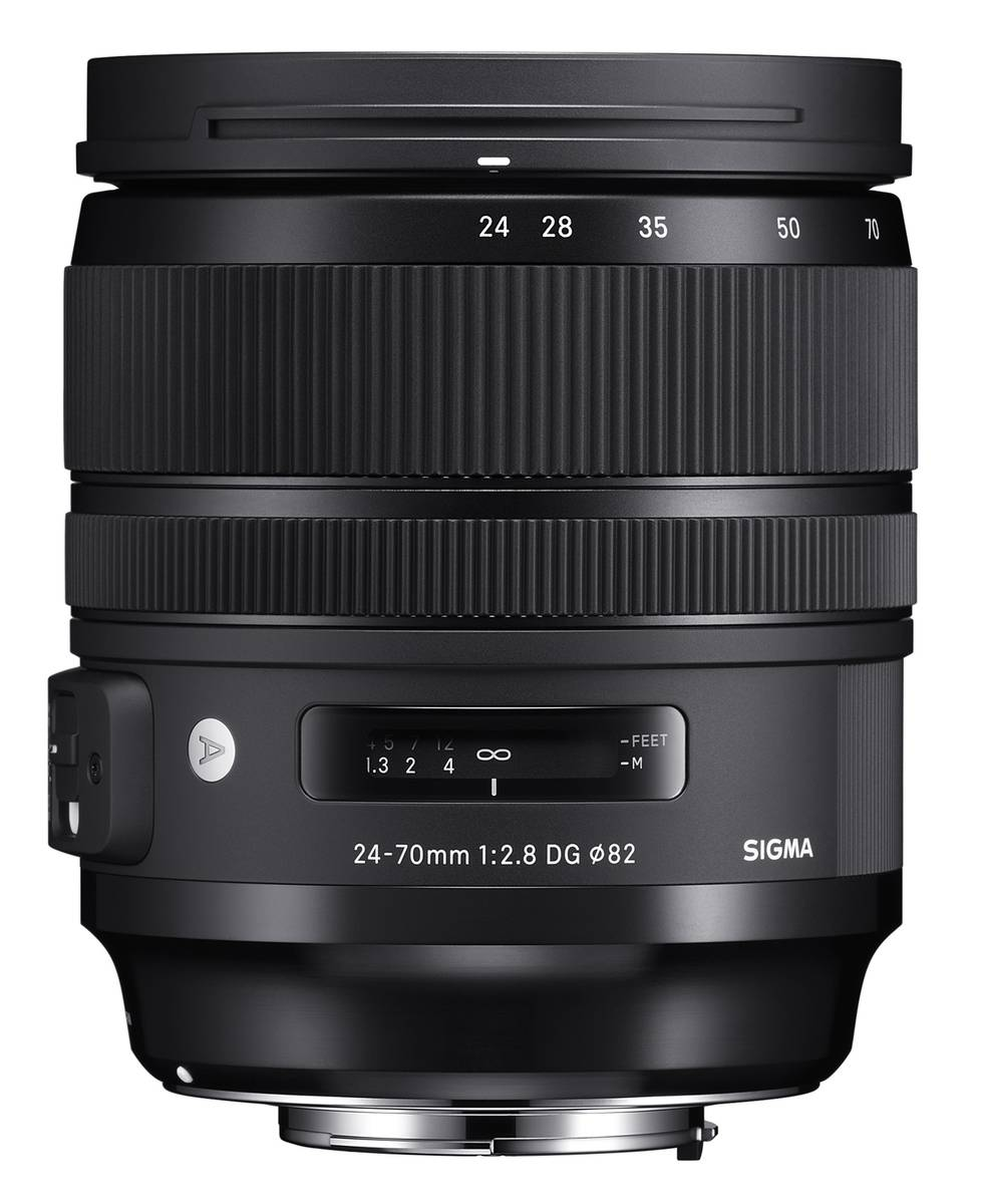 Sigma announces prices for full format 14mm F1.8 and 24-70 F2.8 type lenses