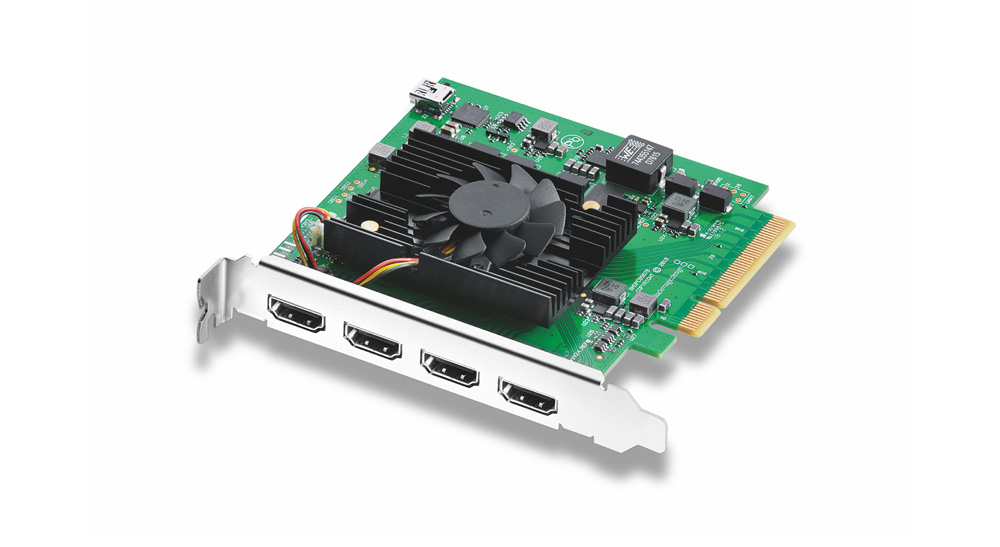 Blackmagic: New DeckLink Quad HDMI Recorder and Two Updates