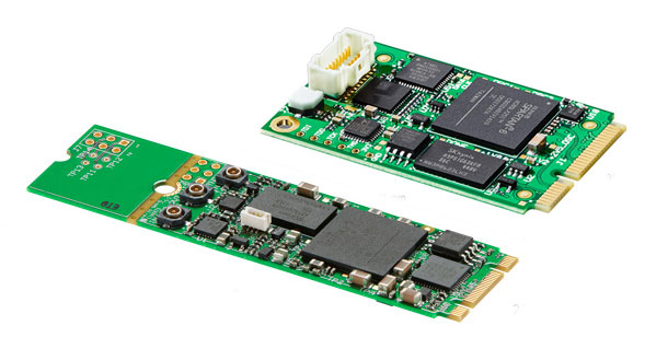 Specialized Micro-I/O boards from Blackmagic: DeckLink SDI Micro / Micro Recorder
