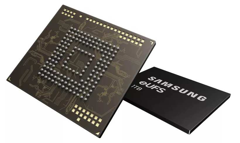 Samsung: 1,000 MB/s fast 1TB memory for smartphones