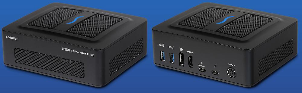 Sonnet eGPU Breakaway Pucks Radeon RX 5500 XT and RX 5700 for Intel Macs