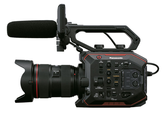 Panasonic EVA1: new firmware enables HEVC recording (10bit 4Kp60)