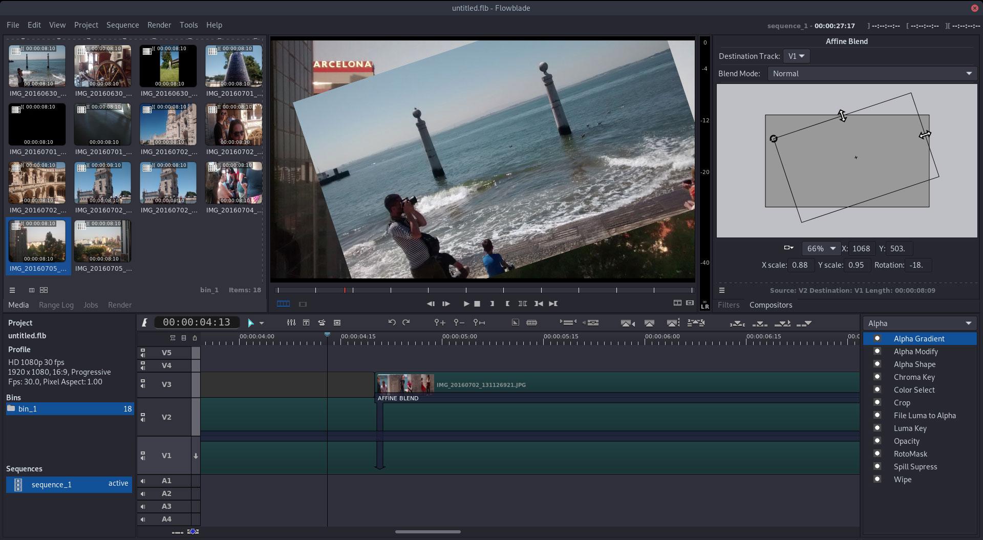 Video editing under Linux - Flowblade 2.8 is finished